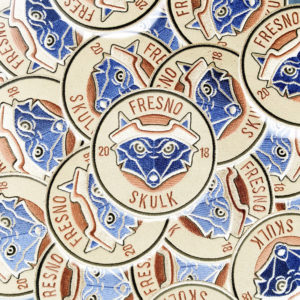 The Fresno Skulk Patch