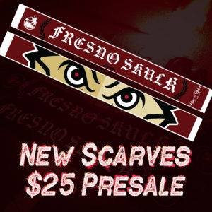 New Fresno Skulk Scarf Presale